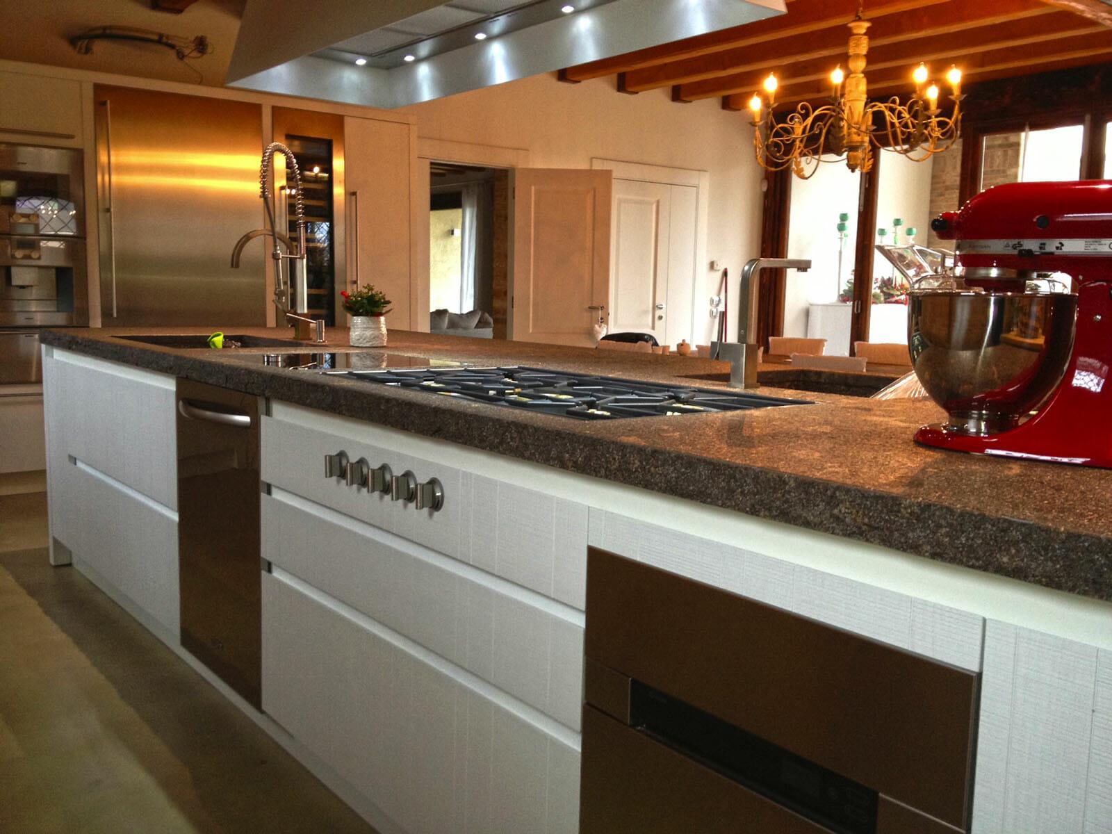 Top cucina ceramica piano cucina in marmo - Top marmo cucina prezzi ...