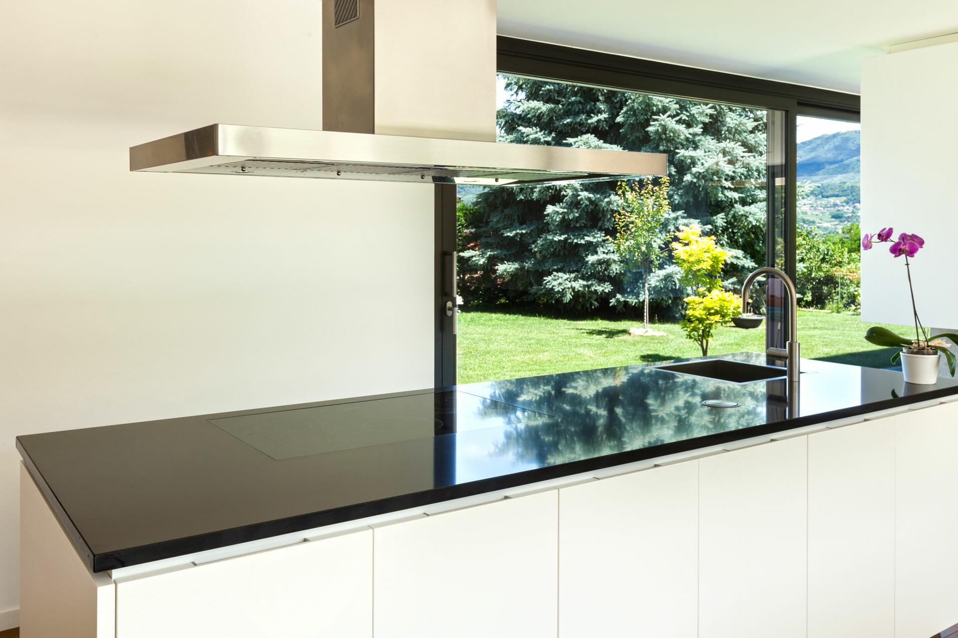 Piano in marmo cucina 2 marmisavegnago - Marmo per piano cucina ...